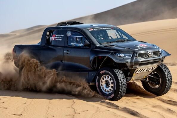 TOYOTA GAZOO Racing na Rajdzie Dakar 2022. Zupełnie nowy GR DKR Hilux T1+